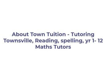 About Town Tuition