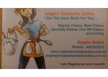 Angie's Domestic Duties