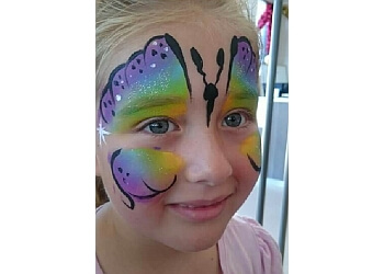Bendigo Face Painting by Renee