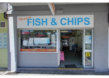 Blackbutt fish and chips