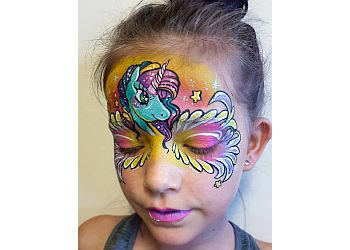 Fairy Eyes Face and Body Painting