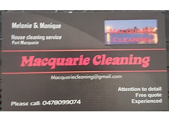 Macquarie cleaning