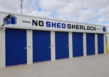 NO SHED SHERLOCK
