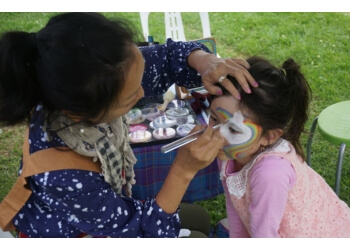Rainbow Kids Face Painting