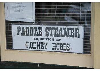 Riverboat Rod's Model Paddle Steamer Display
