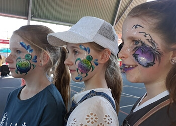 Sparkly Fairy Face Painting