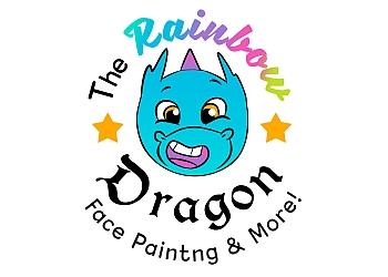 The Rainbow Dragon Face Painting
