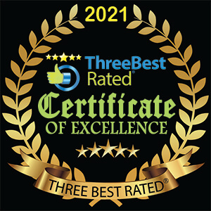 Three Best Rated JPEG Gold Badge Black Background